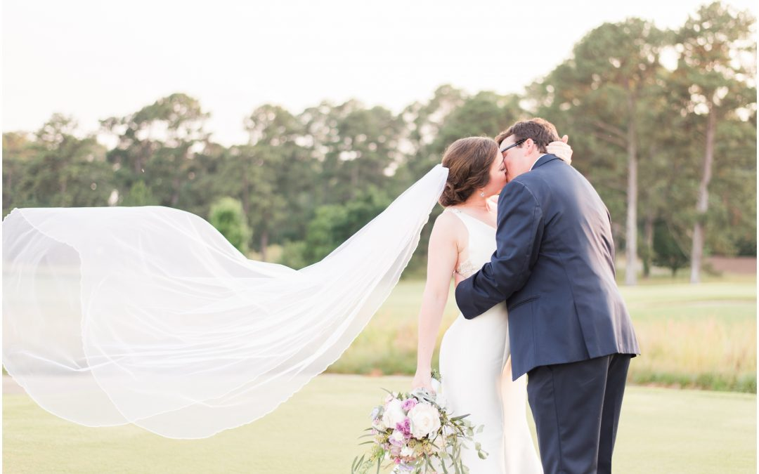 Victoria and Ethan's Lavender Lake Martin Wedding